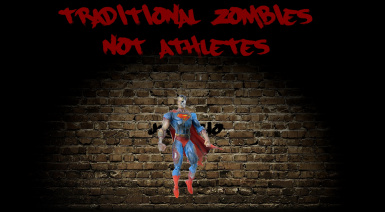Traditional Zombies - Not Athletes A17
