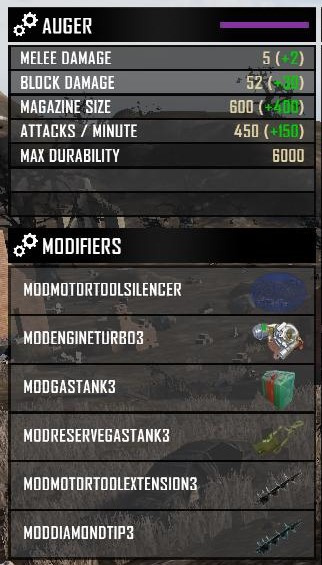6 slots for attachments!