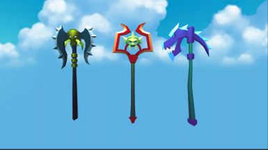 17windy's cartoon fantasy weapons pack