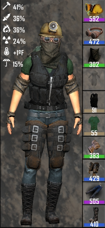 A15 Only - Military Kevlar Vest Black Recolor Plus DIY Other Colors
