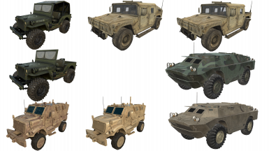 Bdub's Vehicles (A19)