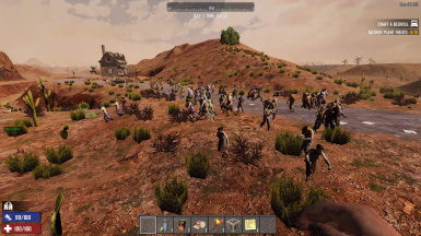 Increased Biome Wilderness Zombies