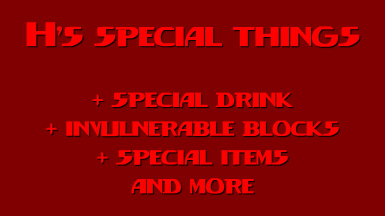 H's special things