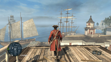 Red Coat A Commander Outfit Recolor Mod At Assassins Creed