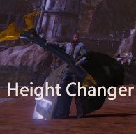 CHARACTER HEIGHT SETTINGS - Red Faction Guerrilla (incl. Re-Mars-tered)