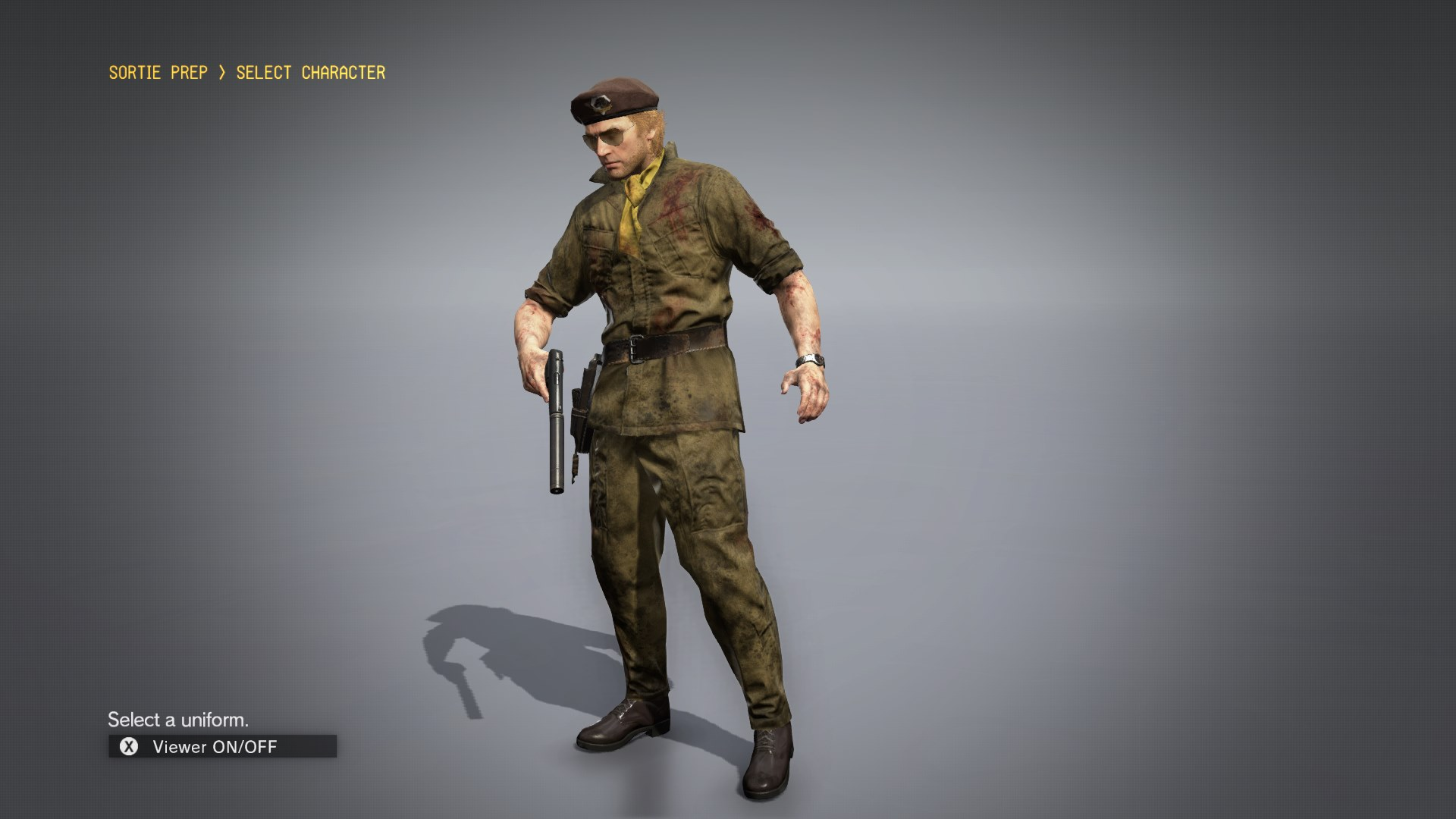 Play as 84 TPP Kazuhira Miller at Metal Gear Solid V: The