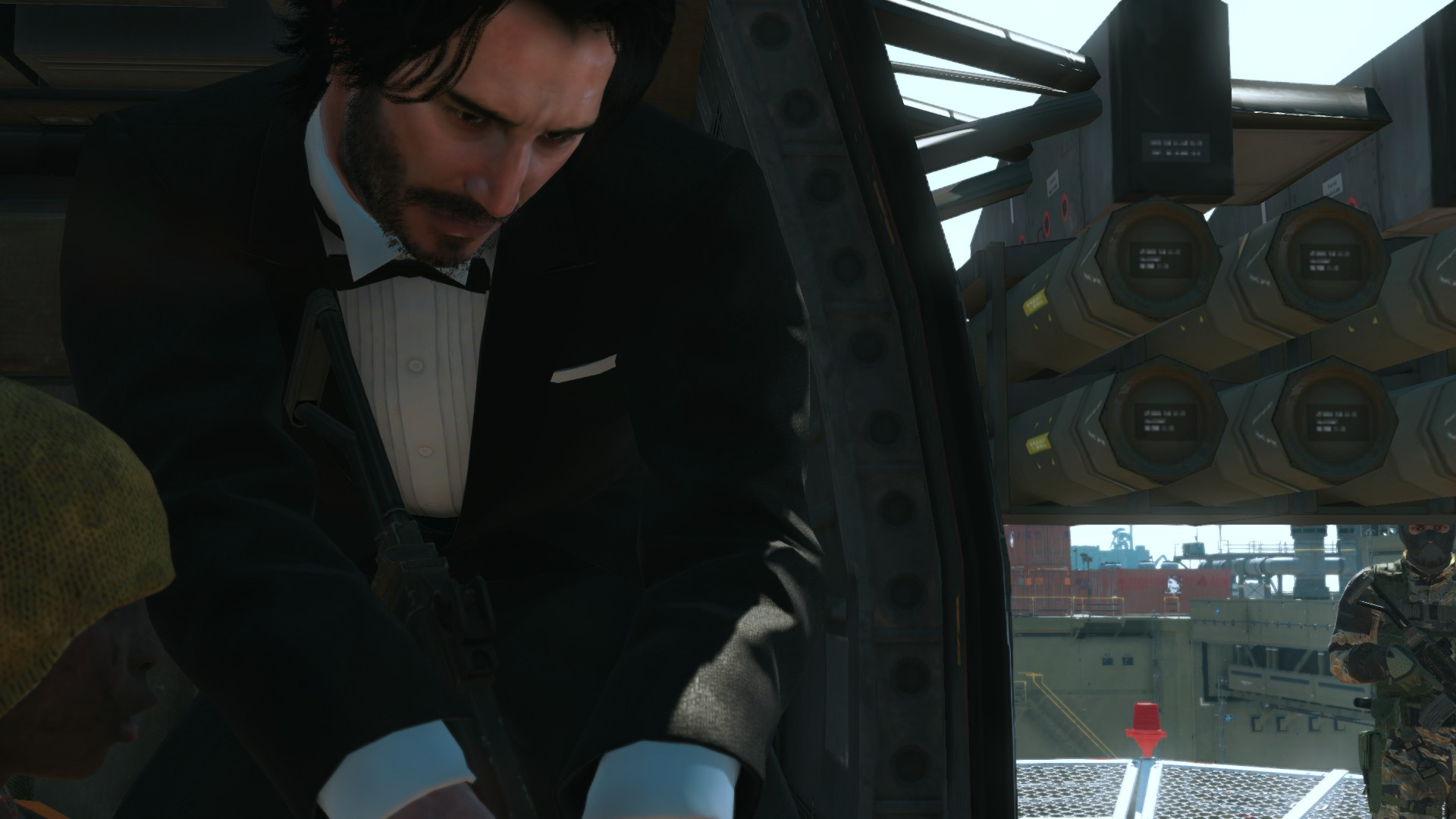 Keanu Reeves Was Modded In Metal Gear Solid V Alienware Arena