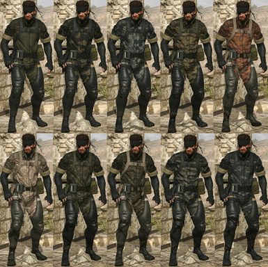 IGA suit for snake with working camo patterns