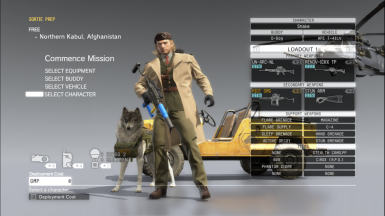 M.S.F. Fatigues Miller Head at Metal Gear Solid V: The