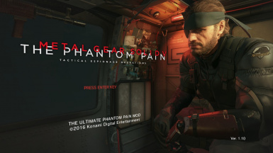The Ultimate Phantom Pain Mod