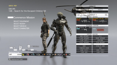 Invisible Hip Weapons for Raiden