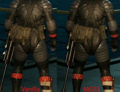 comparison shot vanilla vs mgs3