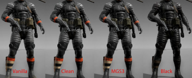Sneaking Suit Comparisons