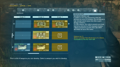 Mods at Metal Gear Solid V: The Phantom Pain Nexus - Mods