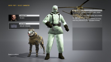 MGS1 Genome Solider - Solid Snake