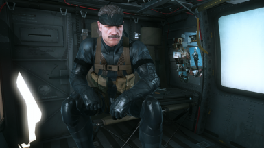 MGS4 Old Snake and Sneaking Suit b2r14