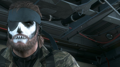 ZOMBIE Face Camo at Metal Gear Solid V: The Phantom Pain