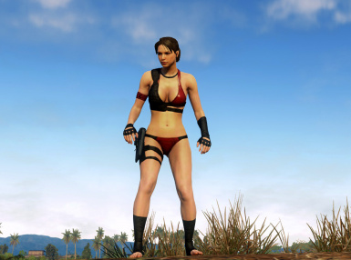 Female Great White Swimsuit Revamp 1 1 at Metal Gear Solid V