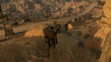 Infinite Heaven at Metal Gear Solid V: The Phantom Pain