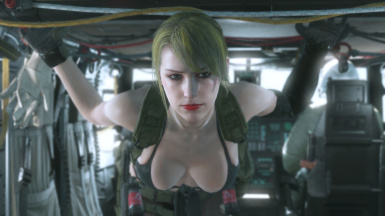 Makeup And Blonde Hair And Default Dress For Bloody Quiet  1