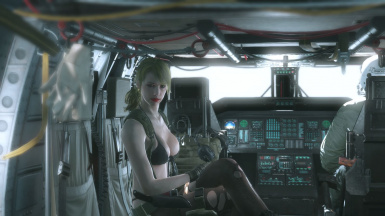 Makeup And Blonde Hair And Default Dress For Bloody Quiet  2