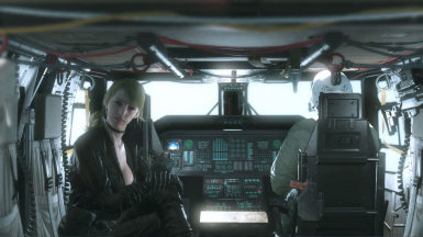 Quiet Sniper Wolf With Default Face And Black Dress For Quiet Sniper Wolf 1