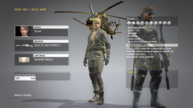 Quiet Sniper Wolf With Default Face Pink Lip And Normal Dress For Quiet Sniper Wolf 1
