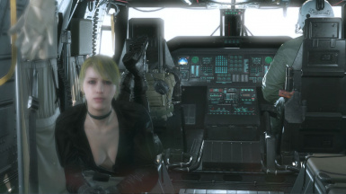Quiet Sniper Wolf With Default Face And Black Dress For Quiet Sniper Wolf 3