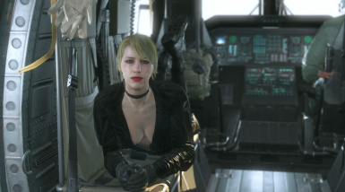 Quiet Makeup Sniper Wolf Black Dress 6