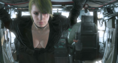 Quiet Sniper Wolf With Default Face And Black Dress For Quiet Sniper Wolf 4