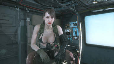 Quiet Makeup And Default Dress on Cyborg Ninja  6