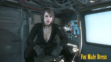 Makeup Hospital Quiet Hair And Black Sniper Wolf Dress   m 1
