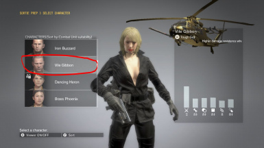Makeup Blonde Hospital Quiet Hair And Black Sniper Wolf Dress   m 1
