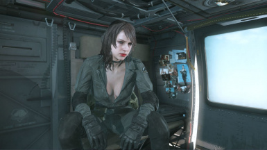Quiet Makeup Hospital Hair Sniper Wolf Dress on Female Battle Dress 7