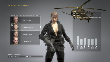 Quiet Makeup And Black Dress Brown Hair Sniper Wolf on Female Parasite