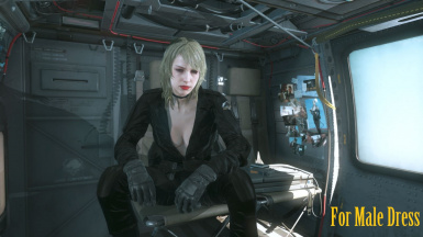 Makeup Blonde Hospital Quiet Hair And Black Sniper Wolf Dress   m 2