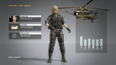 Quiet Makeup And Blonde Hospital Hair And Black Hospital Dress on Female Battle Dress