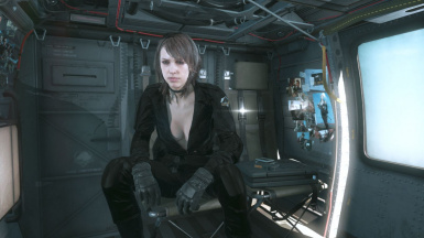 Quiet Black Dress Hospital Hair Sniper Wolf on Female Battle Dress 5