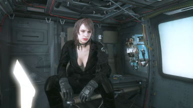 Quiet Makeup And Black Dress Hospital Hair Sniper Wolf on Female Battle Dress 2
