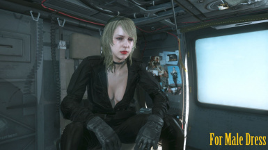 Makeup Blonde Hospital Quiet Hair And Black Sniper Wolf Dress   m 5