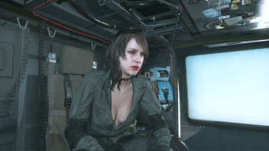 Quiet Makeup Hospital Hair Sniper Wolf Dress on Female Battle Dress 9