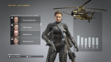 Female Soldier 45