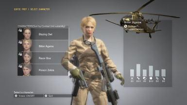 Female Soldier 65