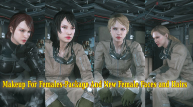 Makeup For Females   Package  New Female Faces and Hairs