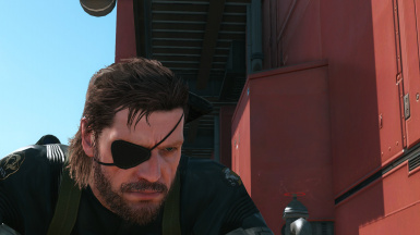 Big Boss Ground Zeroes Skin With Mullet At Metal Gear Solid