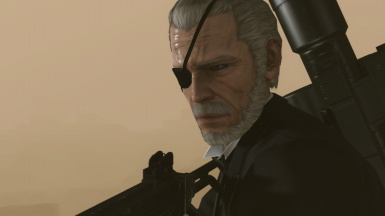 MGS4 Big Boss Head