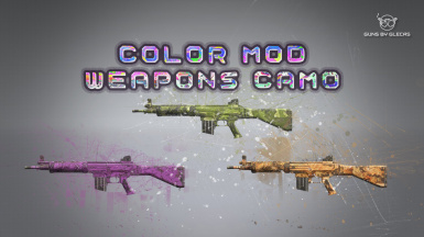 Weapons Color Mod Maker and Packs
