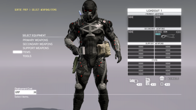 Cooler Parasite Suit at Metal Gear Solid V: The Phantom Pain
