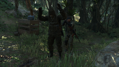 MGS3 KGB and GRU Soldiers (IH Add-on)