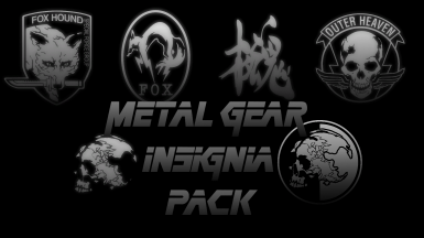 Metal Gear Insignia Pack